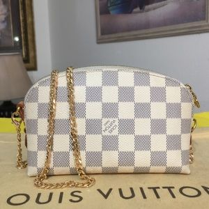 ❌❌SOLD💥Louis Vuitton Damier Azur Cosmetic Pouch